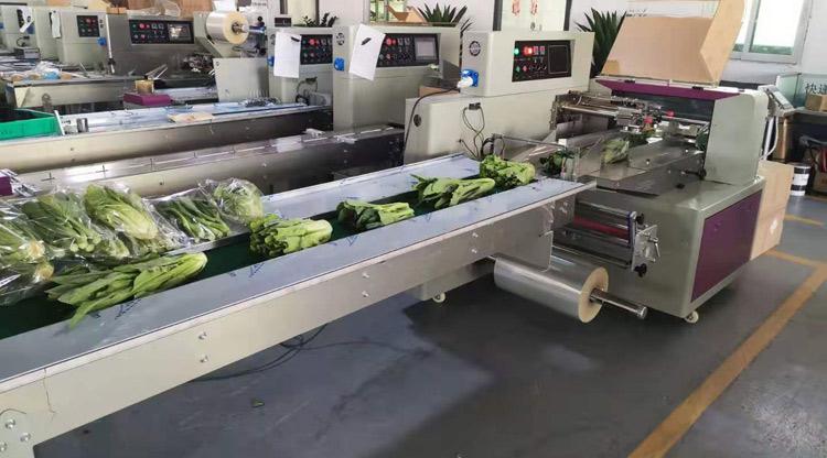 蔬菜包装机试包